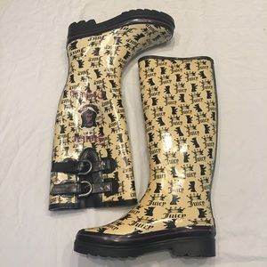 Juicy Couture Rain Boots